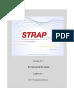 STRAP 2012 Enhancements