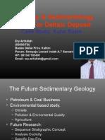 Ichnology & Sedimentology Model For Deltaic Deposit
