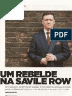 Uma Rebelde Na Savile Row