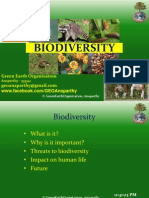 Biodiversity PPT prepared by Krishna Sastry Durbha for Green Earth Organisation, Anaparthy
