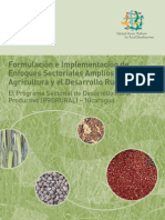 Formulating and Implementing Sector-wide Approaches in Agriculture and Rural Development (in Spanish)