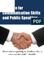Demonstration Workshop on Effective Communication by ICSPS