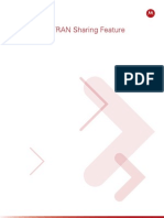 Motorola's UTRAN Sharing Feature