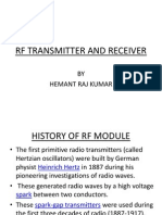 Rf Transmitter and Receiver