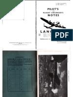 Pilot's Notes - Lancaster