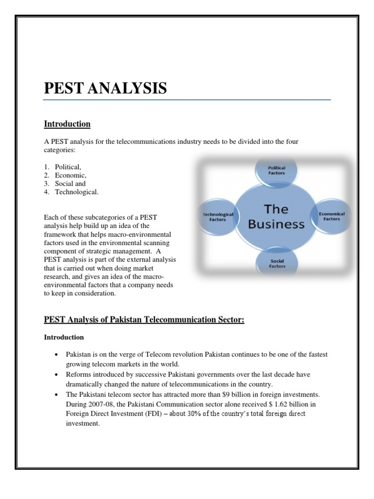 pestel analysis 2 essay Pestel analysis case study - instead of concerning about dissertation writing find  the necessary help here select the service,  examine exhibit 2, then the internal  factors  detroit three big picture of analysis summary ifas.