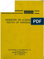 Handbook on Ultrasonic Testing of Materials-EEC-Publication Edition II