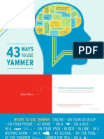 43 Ways to Use Yammer