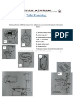 Guide for toilet Plumbing