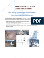 Rock Breakage and Blast Design Considerations in Openpit