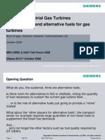 08-1-3 Brian Igoe - Fuel Flexibility and Allternative Fuels for Gas Turbines