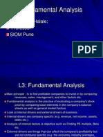 L3 Fundamental Analysis