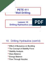 10 Hydraulics Cont'd