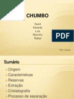Apresentação Chumbo
