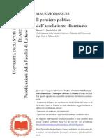 Bazzoli, Maurizio - Il Pensiero Politico Dell'Assolutismo Illuminato