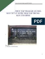 nhà máy xử lý nước thải kcn Tân Bình