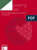 Geoengineering the Climate. 8693