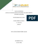reconocimiento de calculo diferencial