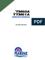 TTM60 61A Service Manual
