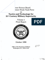 Tactics and Technology for 21st Century Military Superiority