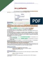 Homonimia y Polisemia