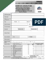 Dossier Candidature
