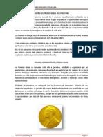 PREMIOS NOVEL DE LITERATURA