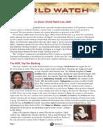 Open Doors World Watch List 2009
