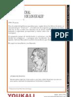 El manifiesto de los iguales.  Sylvain Maréchal.