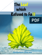 Preview Book- The Leaf Which Refused to Fall