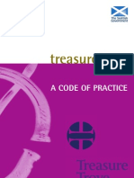 Code of Practice for Treasure Trove in Scotland