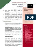 GUIA CUATRO ING CIVIL Cambios Fisicos y Quimicos