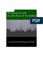 The Message Of GOD And The Prayer Of The Faithful - Second Edition