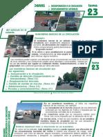 Tema 23 Maniobras Incorporacion a La Circulacion y Desplazamientos Laterales