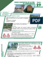 tema 29 los peligros concretos de la via- su señalizacion