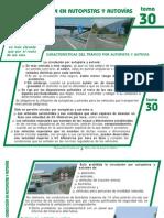 Tema 30 La Conduccion en Autopistas y Autovias