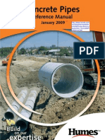 Concrete Pipes Reference Manual
