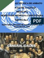 Conferencia de Salud