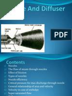 nozzle and diffuser