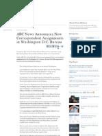 Jake Tapper Leaves ABC for Cnn