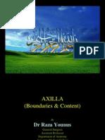 Axilla boundaries and content