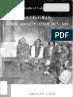 Gabriel Salazar La Historia Desde Abajo y Desde Dentro