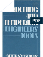 Hardening and Tempering Engineers Tools 3Ed G.gentry E.westbury 1977 Argus-Books