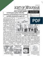 ( 30-8-2011 ) New Lights of Myanmar