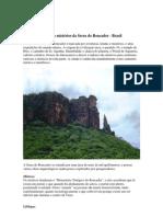 Lendas e mistérios da Serra do Roncador - brasil
