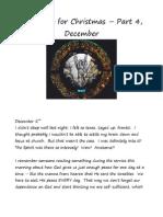 Preparing for Christmas - Part 4, December
