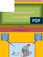 Performing Chest Compression