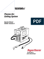 Hypertherm Powermax 190C Plasma Operator Manual 3