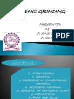 Cryogenic Grinding1