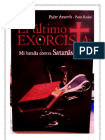 99987784 Gabriele Amorth El Ultimo Exorcista 2012